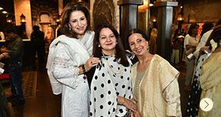 Ashima leena launches Khwabeeda at DLF Emporio