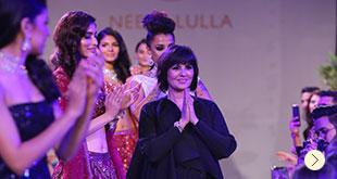 Neeta Lulla launches her Wedding Couture Collection at DLF Emporio