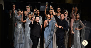 Rohit Gandhi + Rahul Khanna Indian Couture Launch at DLF Emporio