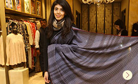 Taani by Tanira Sethi launches Cashmere Collection for PATINE at DLF Emporio