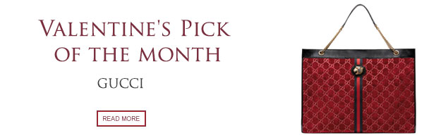 Valentine's Pick of the Month: Gucci