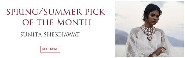 Pick of the Month: Sunita Shekhawat
