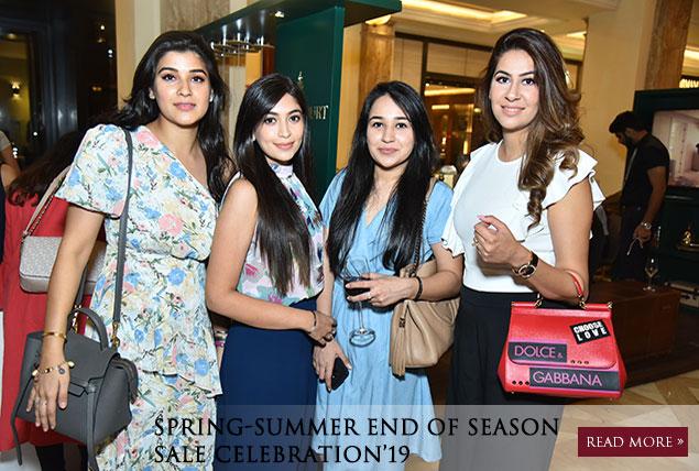Spring-Summer End of Season Sale Celebration'19