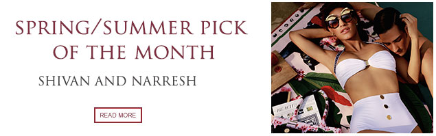 Pick of the Month: Shivan and Narresh