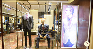 Corneliani launches it's Spring Summer Collection at DLF Emporio