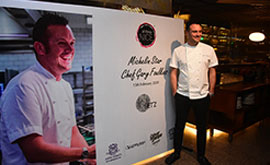 Dinner with Michelin Star Chef Gary Foulkes