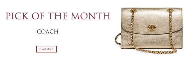 Pick of the Month: Coach