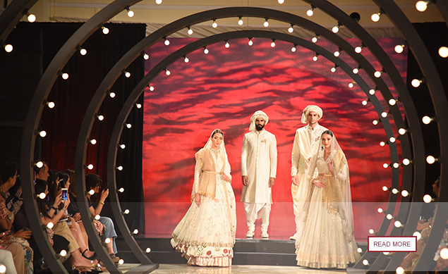 To Celebrate The 5th Anniversary Of Couture Weddings A Multi Brand Fashion Show Was Curated For The First Time Ever!