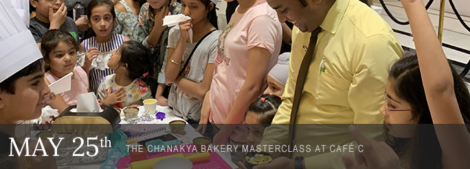 Feature of the Month: Vacation Special Bakery Master Class at Café C