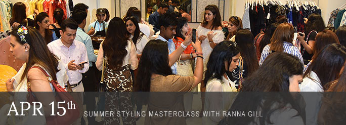 Feature of the Month: Summer Styling Masterclass with Ranna Gill